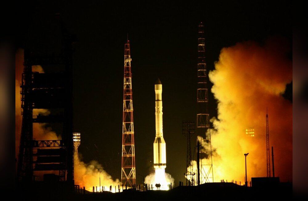 Glonass startimas Baikonuri kosmodroomilt. Foto Oleg Nrusov, RIA Novosti