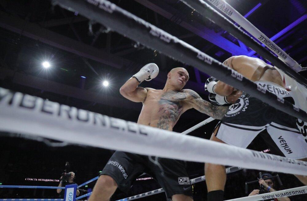 FOTOD | Mirkko Moisar sai Nr1 Fight Show peamatšis valgevenelase üle magusa revanši, nähti ka ühte nokauti