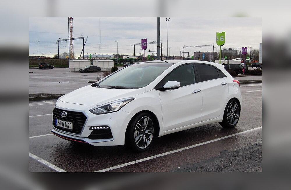 PROOVISÕIT: Hyundai i30 Turbo: kiirelt, stiilselt ja murevabalt