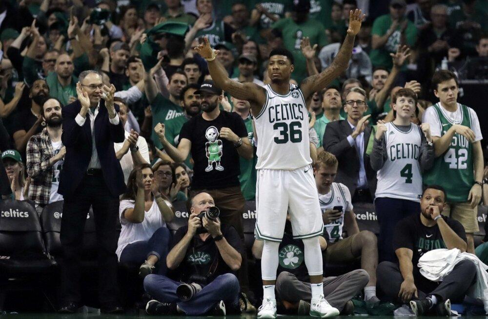Boston Celticsi fännid on asjade käiguga rahul