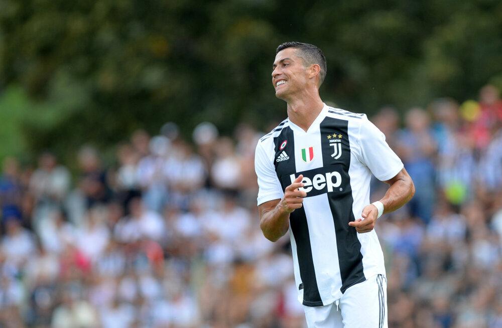 VIDEO | Cristiano Ronaldo lõi Juventuse eest esimese värava
