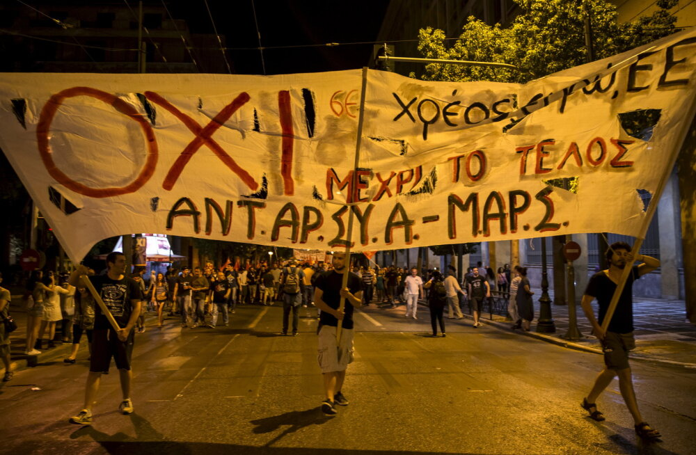 Pangad: Kreeka EI tähendab pigem riigi lahkumist euroalalt
