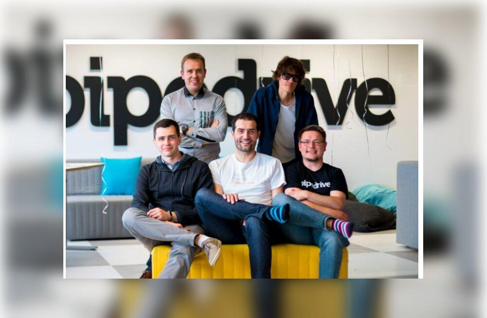 """Историческая сделка: эстонский стартап Pipedrive стал пятым эстонским """"единорогом"""""""