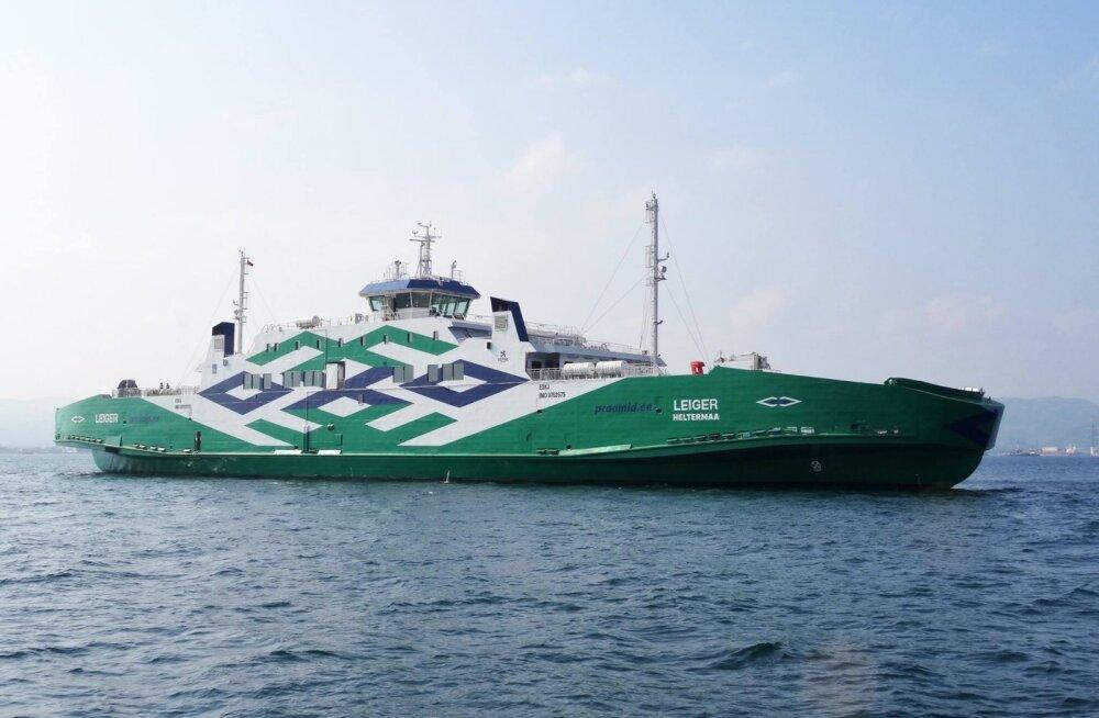 TS Laevade juhatuse liige selgitas, miks valiti praamimootorite kütuseks kallim variant