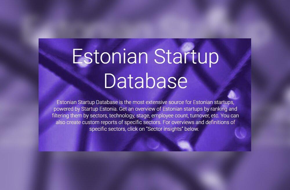 Eesti idufirmade uuendatud andmebaas sisaldab kaks korda rohkem tegijaid