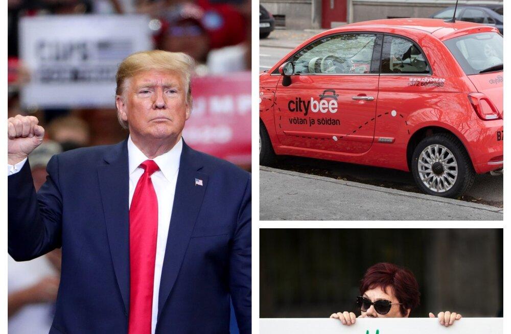 Trump, jagamisautod, Keskerakonna rahastamine