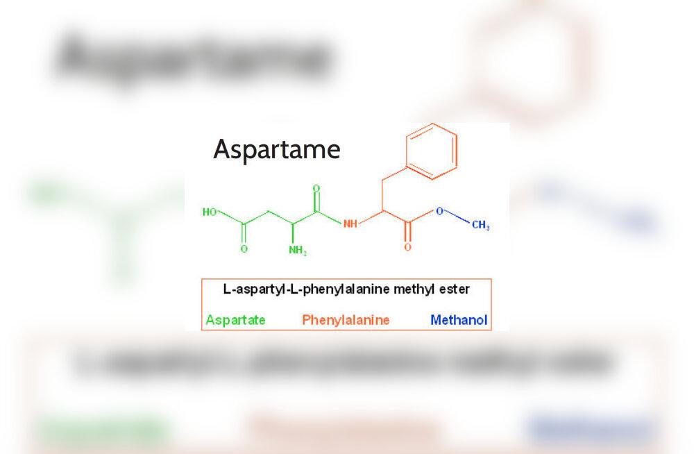 Kas aspartaami kasutamist tasub vältida?