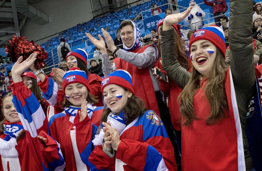 Venelased lõid olümpia hokiturniiril kindlalt ameeriklasi