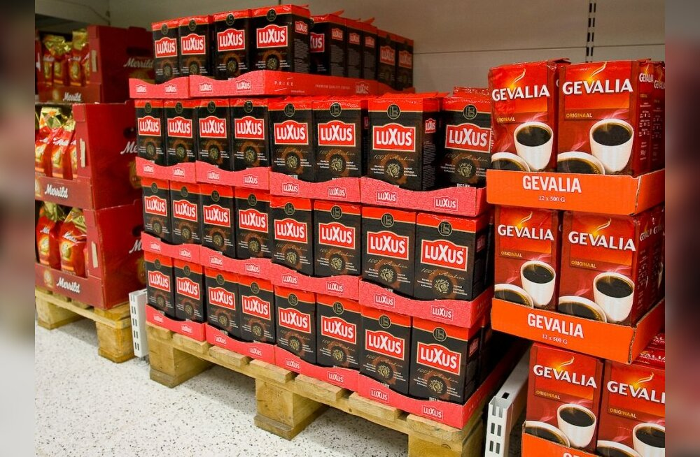В магазинах Эстонии дорожает кофе