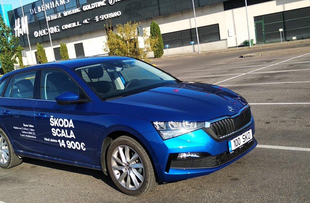 PROOVISÕIT | Suurt turuosa kiikav Škoda Scala
