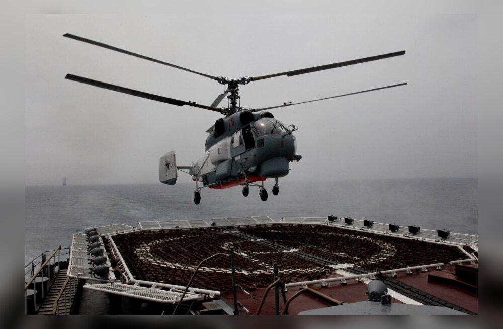 Vene Balti laevastik korraldas Läänemerel piraaditõrjeõppuse