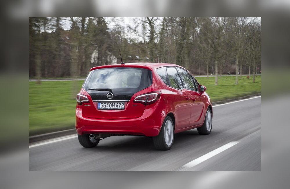 Uuenenud Opel Meriva: endiselt nutikas väikeauto