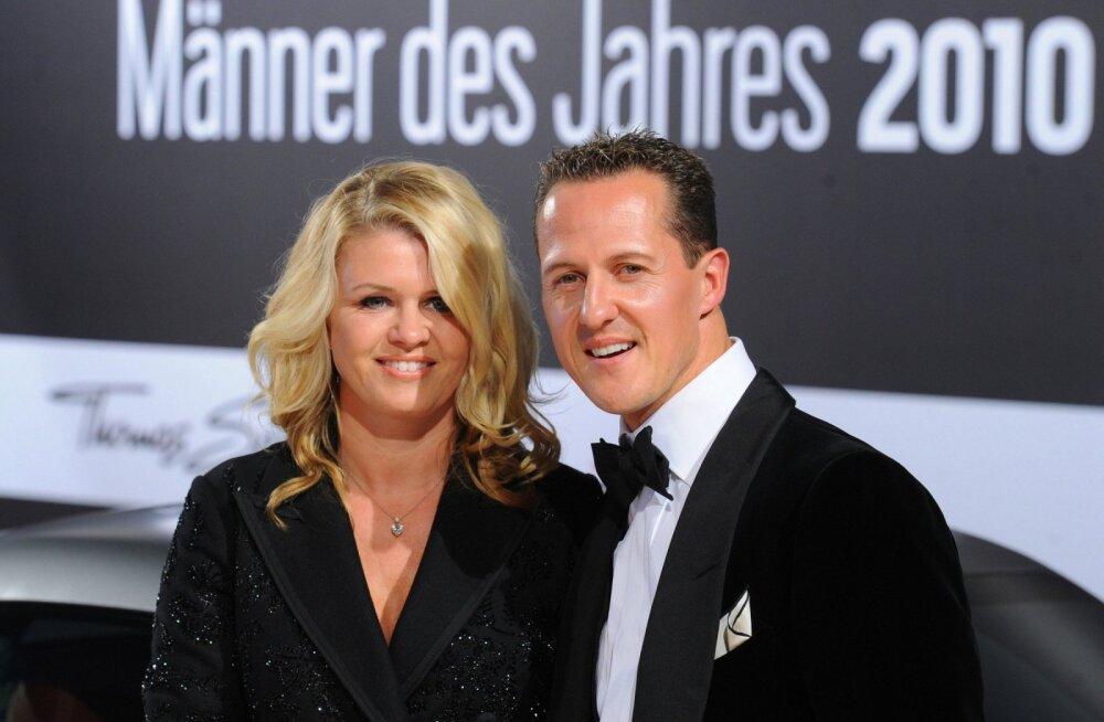 Corinna Schumacher: oleme väga selgelt väljendanud, et Michaeliga on juhtunud midagi tõsist