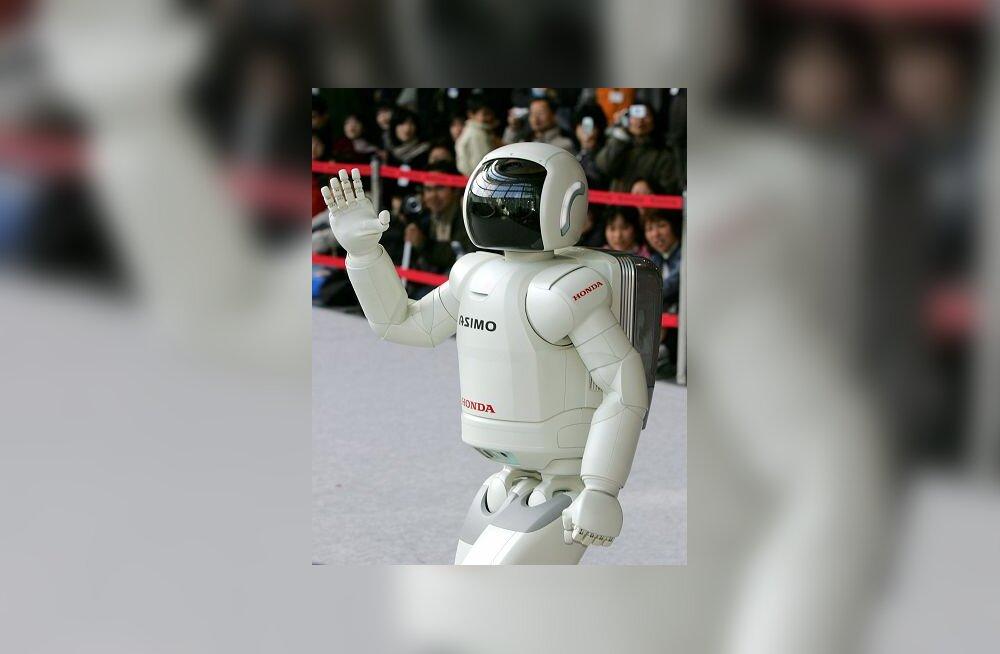 Inimrobot ASIMO