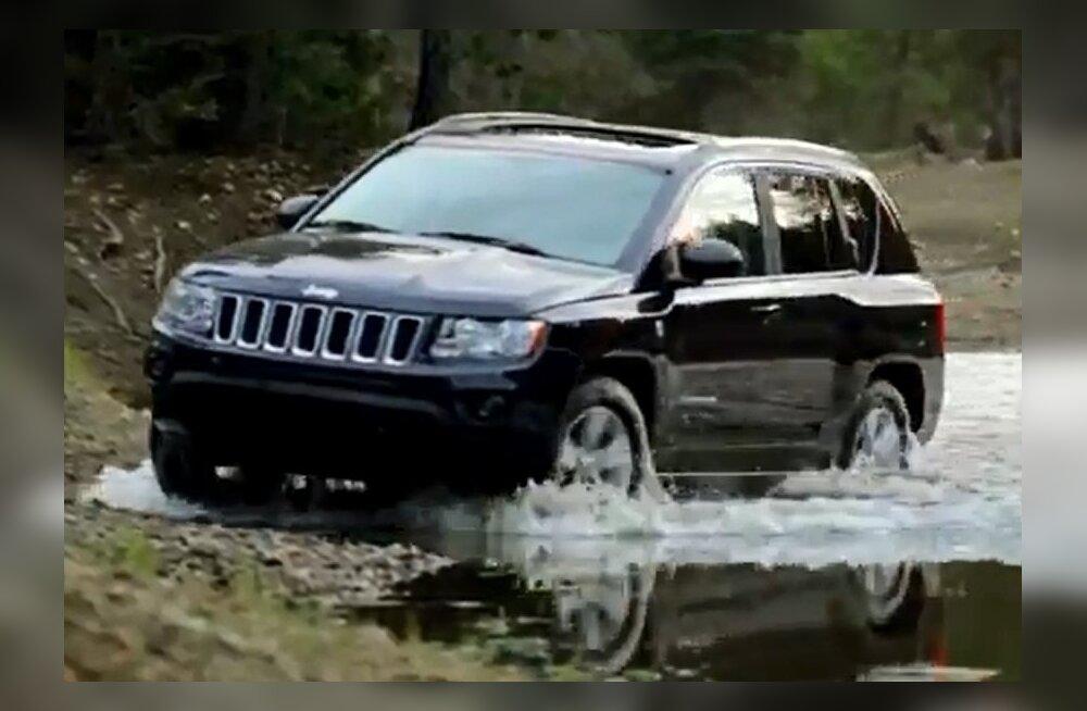 Uue Jeep Compassi Euroopa esmaesitlus toimub Genfi autonäitusel