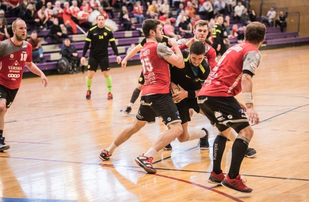 Käsipalli meistriliiga finaalseeria: Põlva Serviti – HC Tallinn