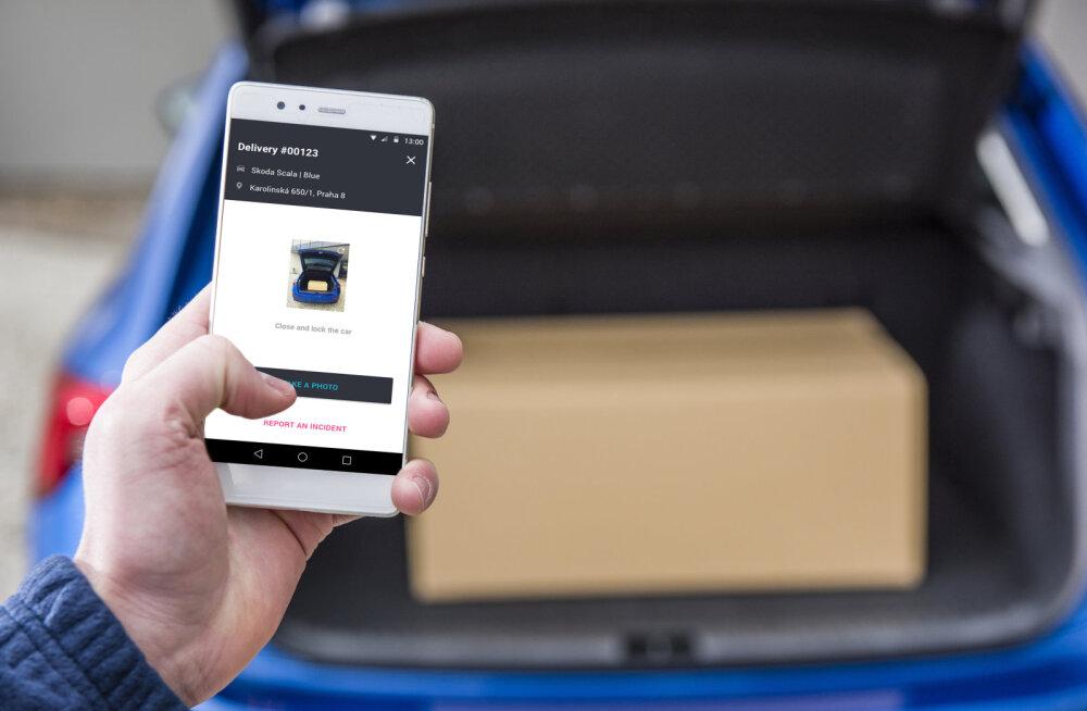 Škoda tahab veebipoodidest tellitud kauba otse autode pagasiruumi toimetada