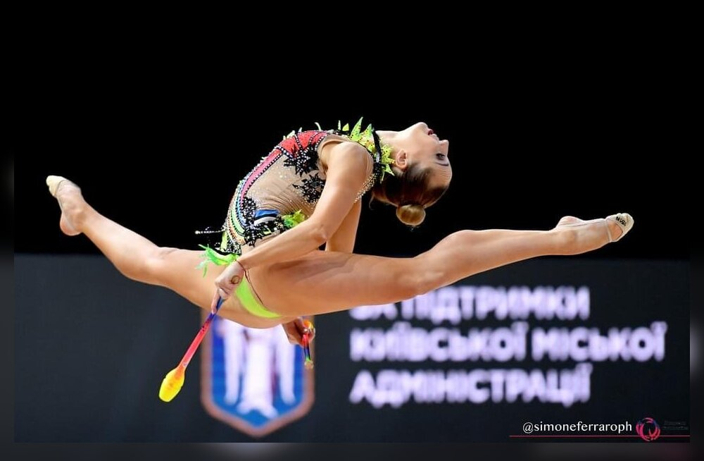 Viktoria Bogdanova saavutas iluvõimlemise EM-il karjääri kõrgeima tiitlivõistluste koha