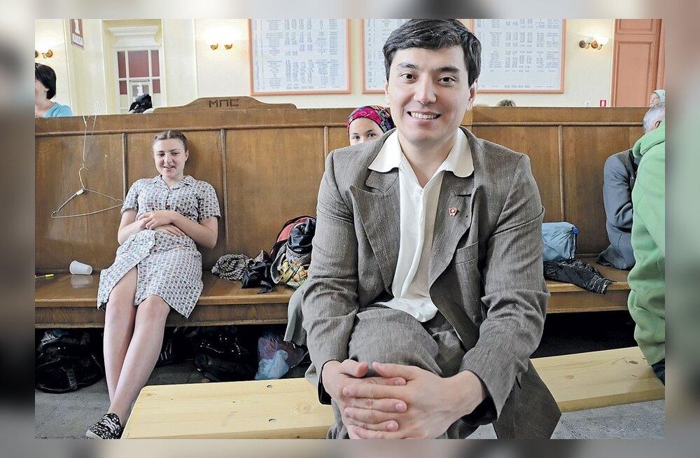 ФОТО: В Хаапсалу снимают фильм о молодости Назарбаева