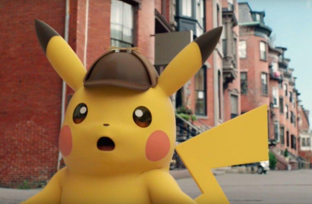 """""""Pokemon GO"""" oli alles algus: Pokemonid on valmis vallutama ka filmimaailma"""