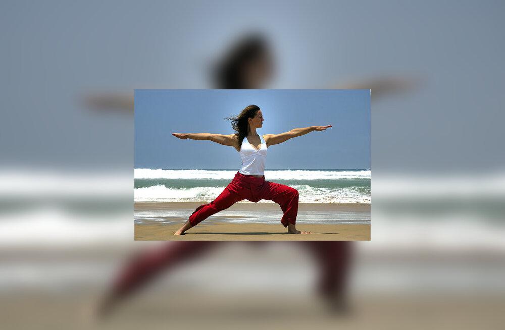 Joogat harrastades saavutad sa tervisliku kehakaalu, muutud paindlikumaks ja parandad oma lihaste toonust ja tugevust