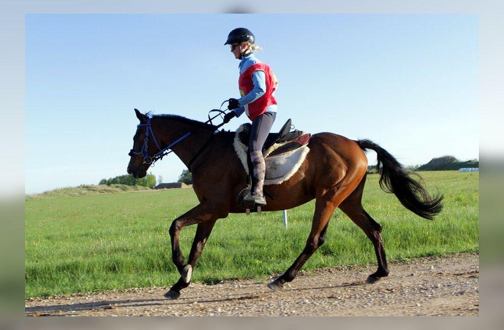 Kairit Kalbre hobusel Baltimore