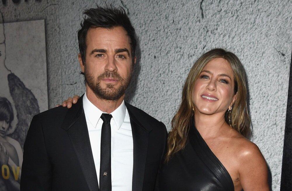 SUHTESAHINAD: Jennifer Anistoni ja Justin Theroux abielu karil?