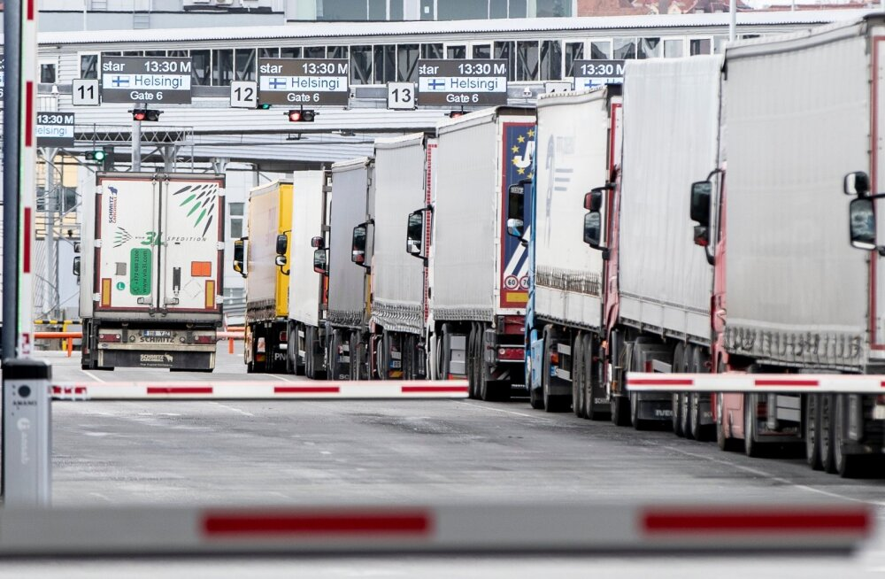 Ministeerium: Eesti ja Soome vaheline kaubavedu peaks aprillis edenema