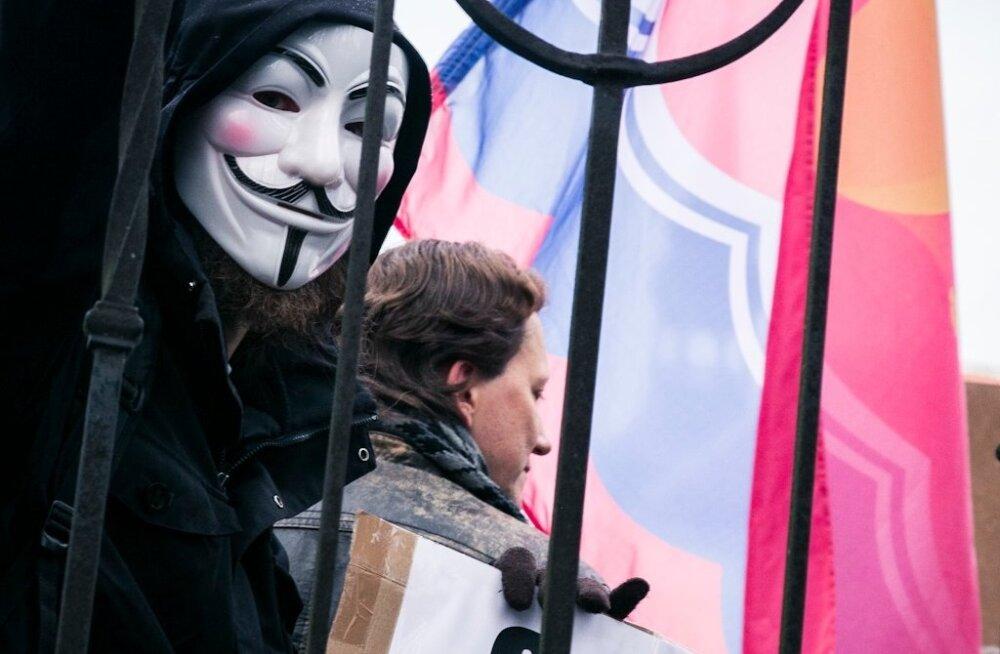 Meeleavaldus valeliku poliitika vastu Tallinnas