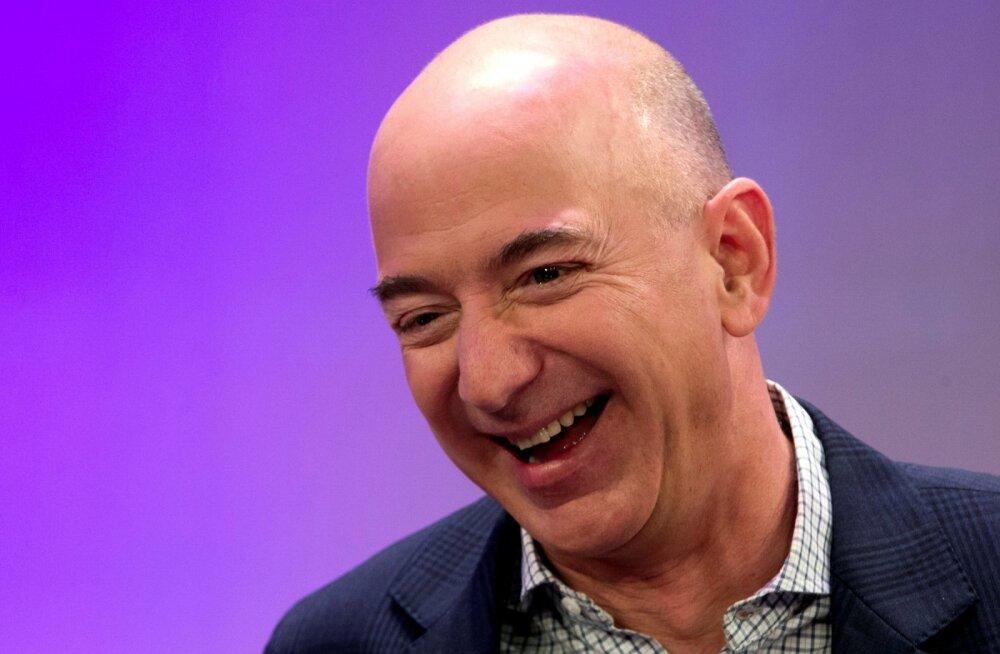 Amazoni tippjuht Jeff Bezos kujunes rikkaimaks inimeseks maailma ajaloos