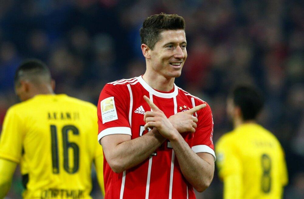 VIDEO   Müncheni Bayern lõi Dortmundi vastu esimese poolajaga viis väravat!