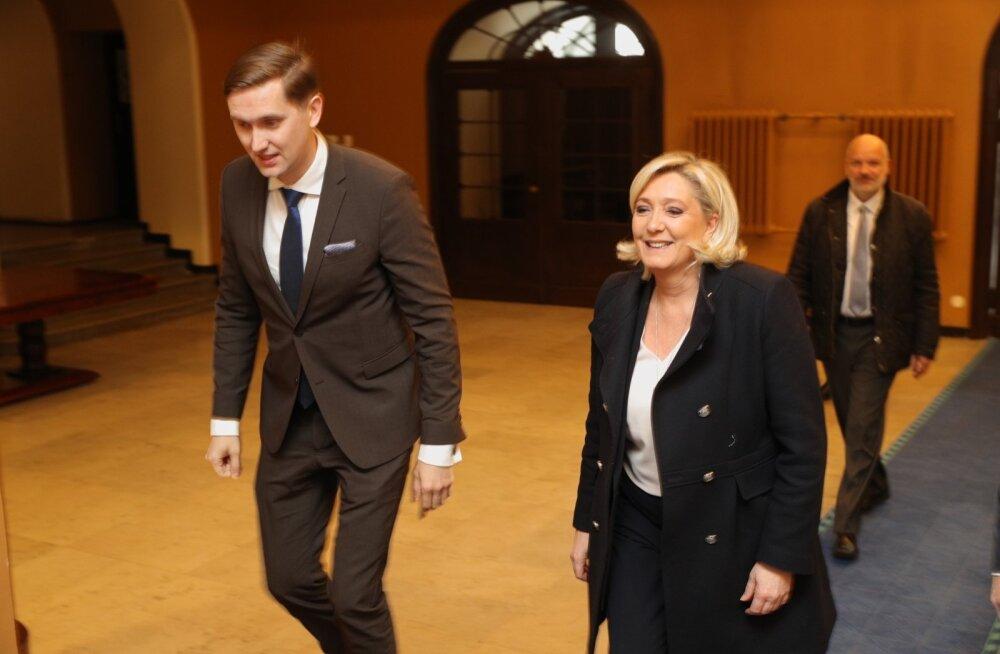 """""""EL on antidemokraatlik koletis"""" - kes on Tallinnas kohtuvad Kotro, Vistisen ja Le Pen oma vaadetelt?"""