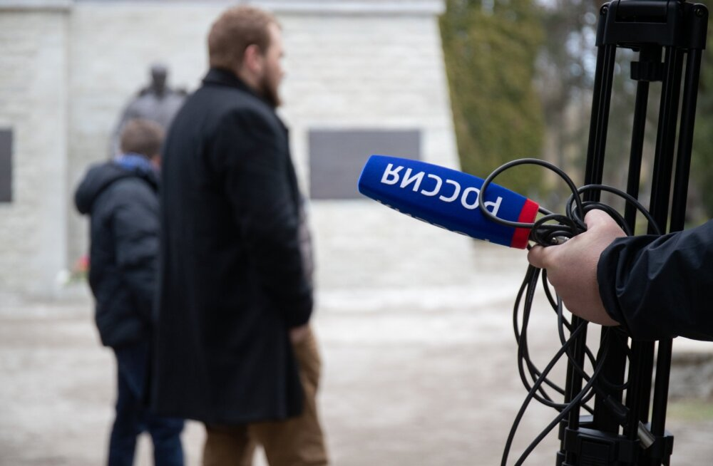 Vene propaganda tööhoos.