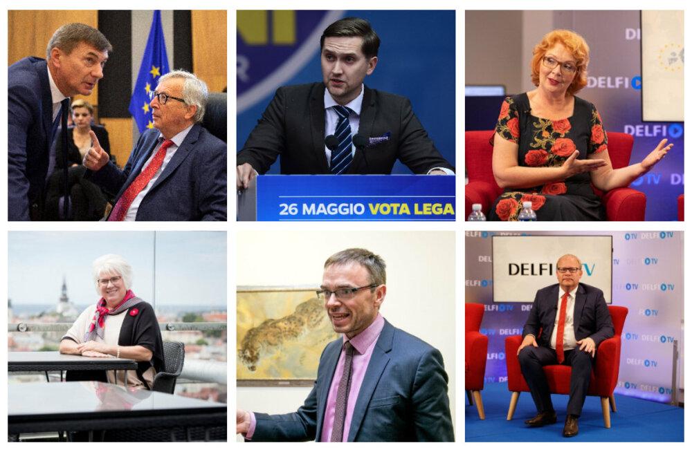 Delfi Strasbourgis   SUUR LUGU: Eesti eurosaadikud hindavad, kuidas sai hakkama Juncker ja millega peaks tegelema von der Leyen