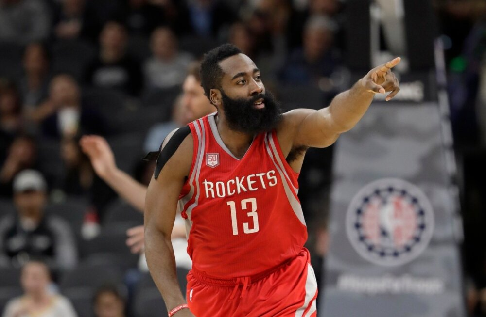 Rockets Spurs Basketball