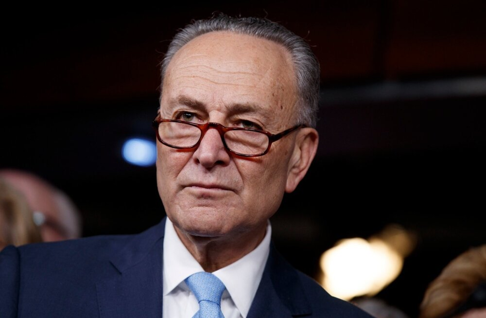 USA senati demokraatide liider püüab takistada Trumpil Venemaa-vastaste sanktsioonide leevendamist