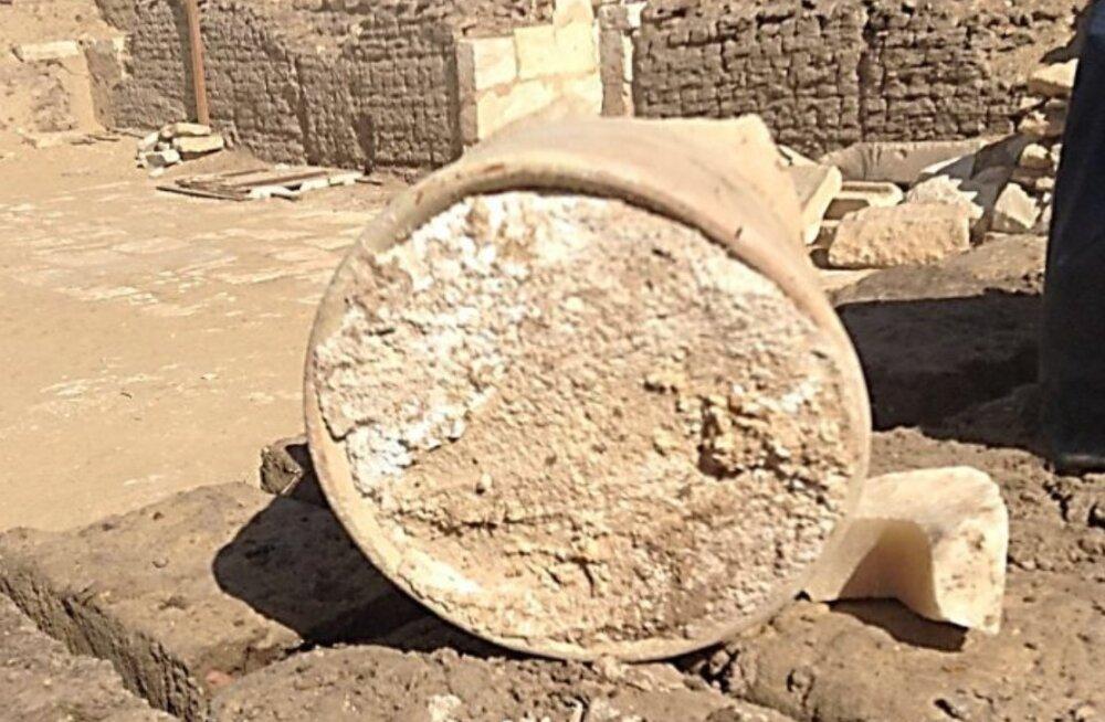 3200-aastane piimatoode! Egiptuse hauakambrist leiti maailma vanim juustukera, mida inimesed nüüd mekkida tahavad