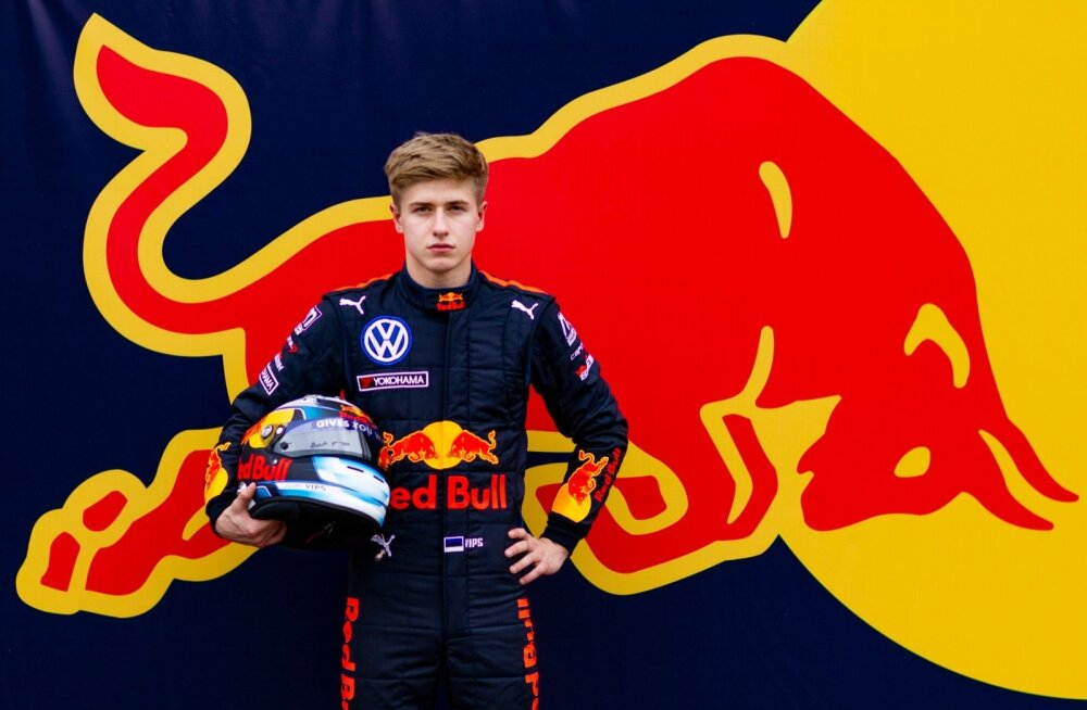 Jüri Vips sõitis Red Bulli värvides juba novembri lõpus mainekal Macau GP-l.