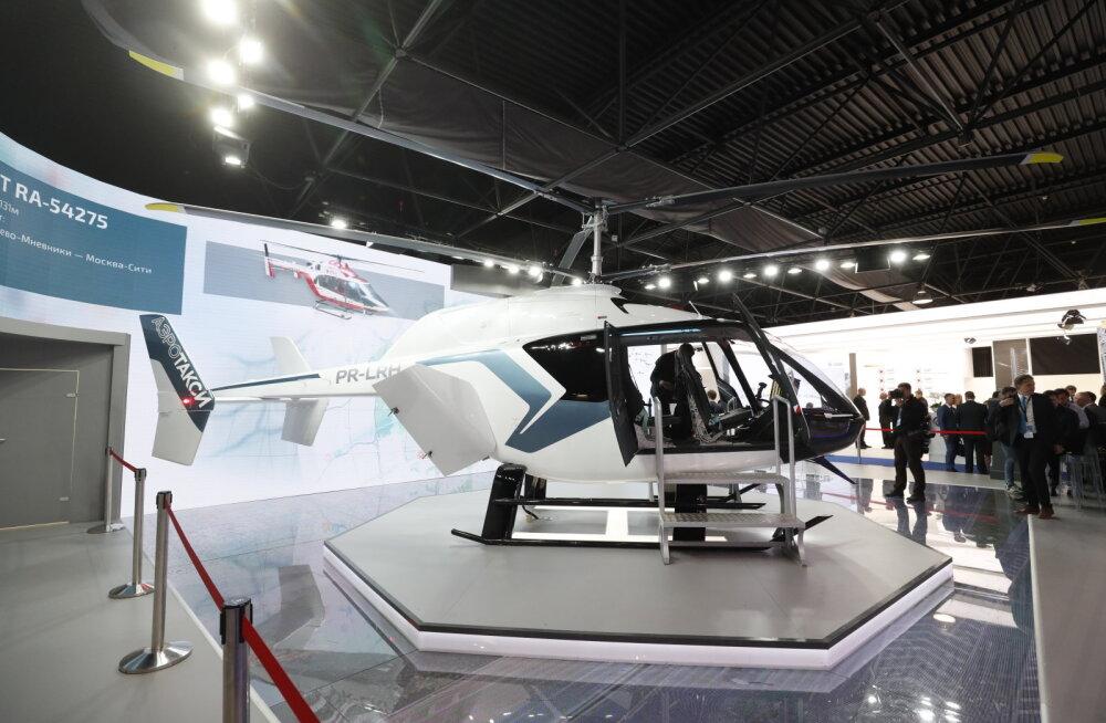 Yandex alustab Moskvas sõidujagamist helikopteritega