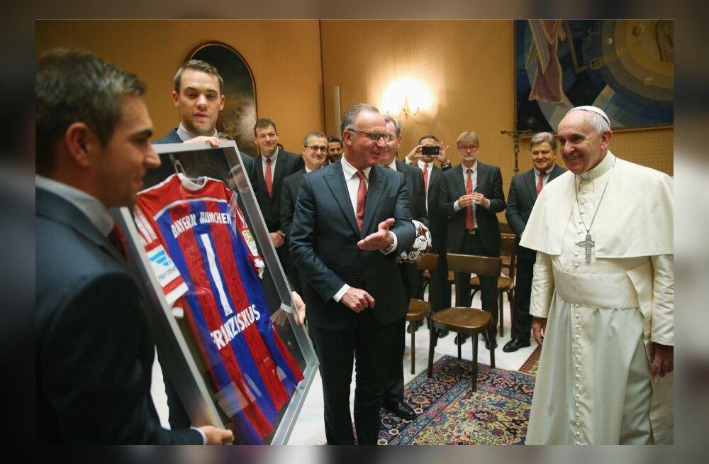 Vatican Pope Soccer
