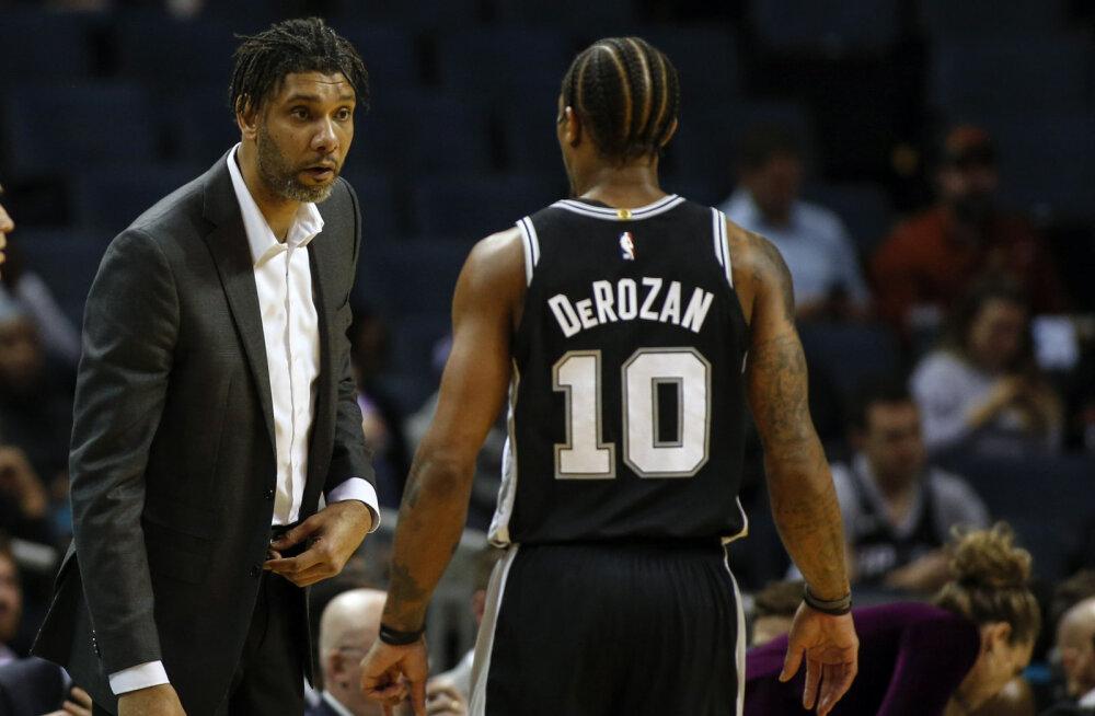 VIDEO | Esimest korda San Antonio Spursi peatreenerina juhendanud NBA legend sai kohe võidu kätte
