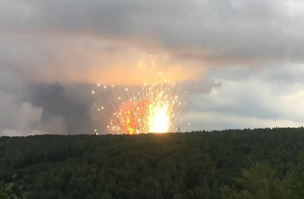 ВИДЕО | В Красноярском крае прогремел взрыв на территории воинской части. Погиб военнослужащий