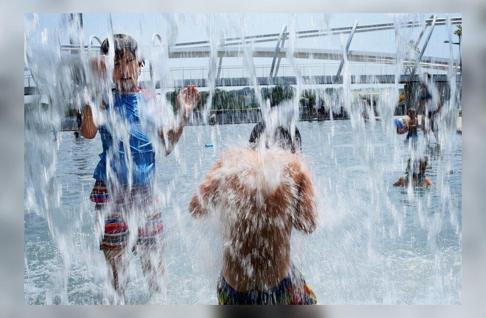 Sünoptik: nädalavahetusel võib sündida selle suve uus soojarekord
