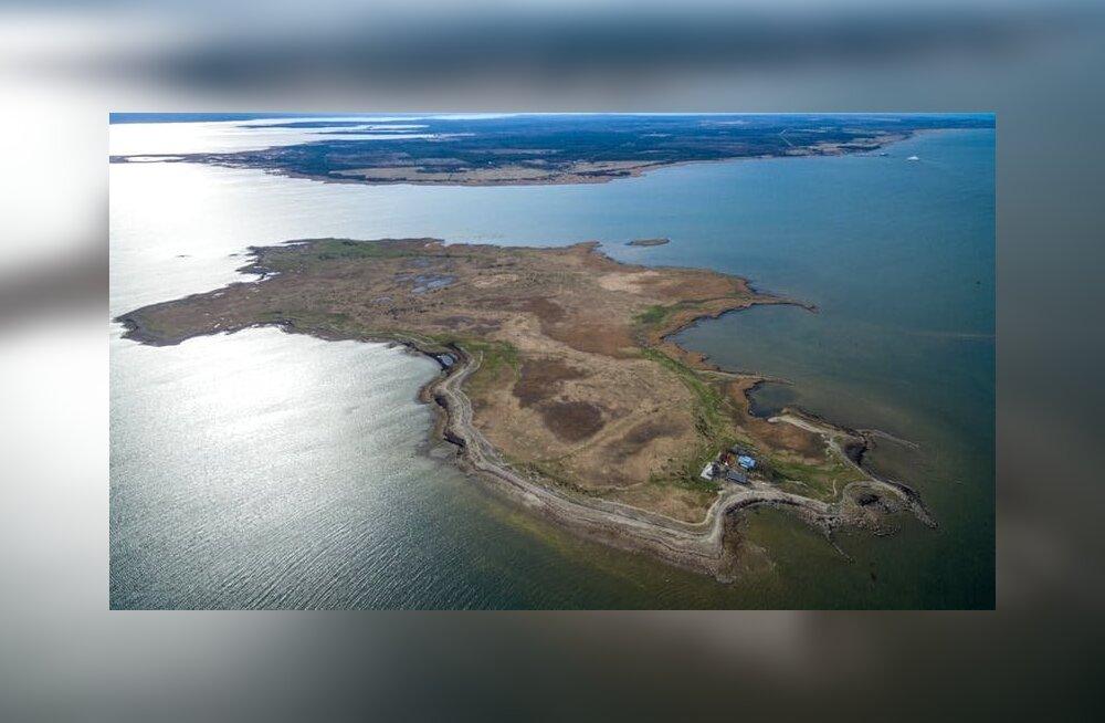 FOTOD   Kaval turundustrikk tõi edu. Lätis levib kulutulena info müügis oleva piltilusa Eesti saare kohta