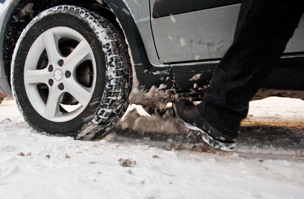 Autoomaniku talverõõmud