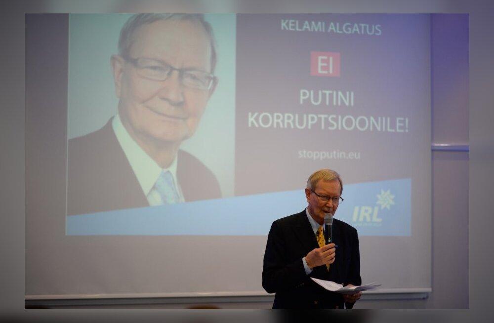 Kelam rääkis Barroso ja Ashtoniga Venemaa sanktsioonidest