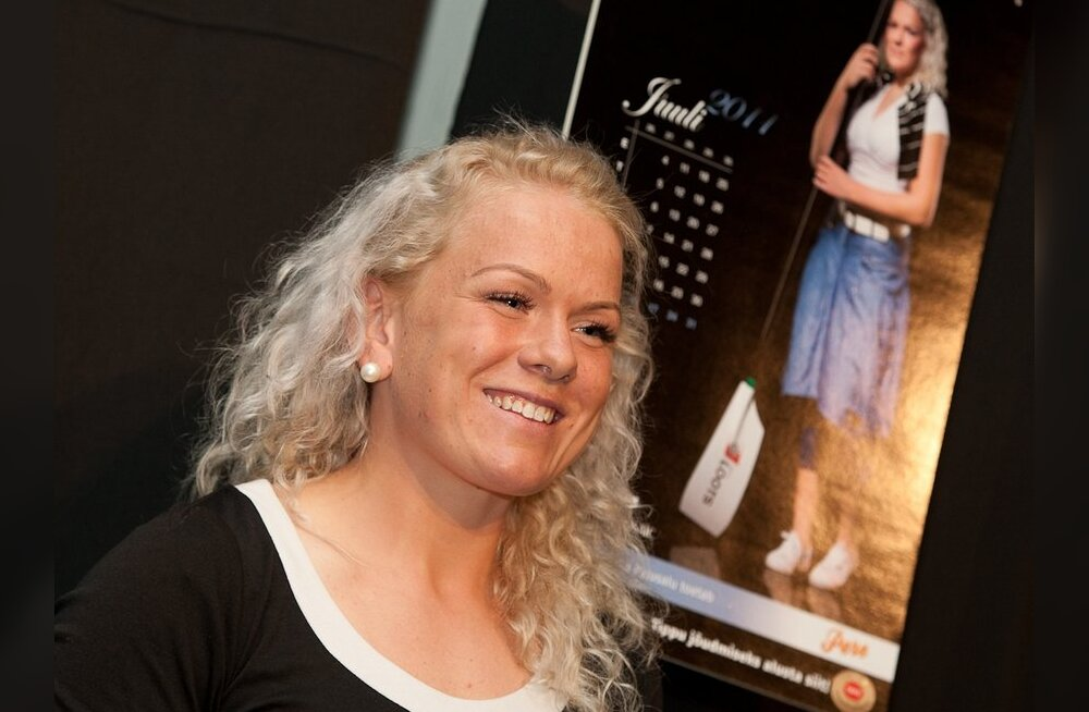 FOTOD: Tuntud Eesti naissportlased särasid kalendri esitlusel