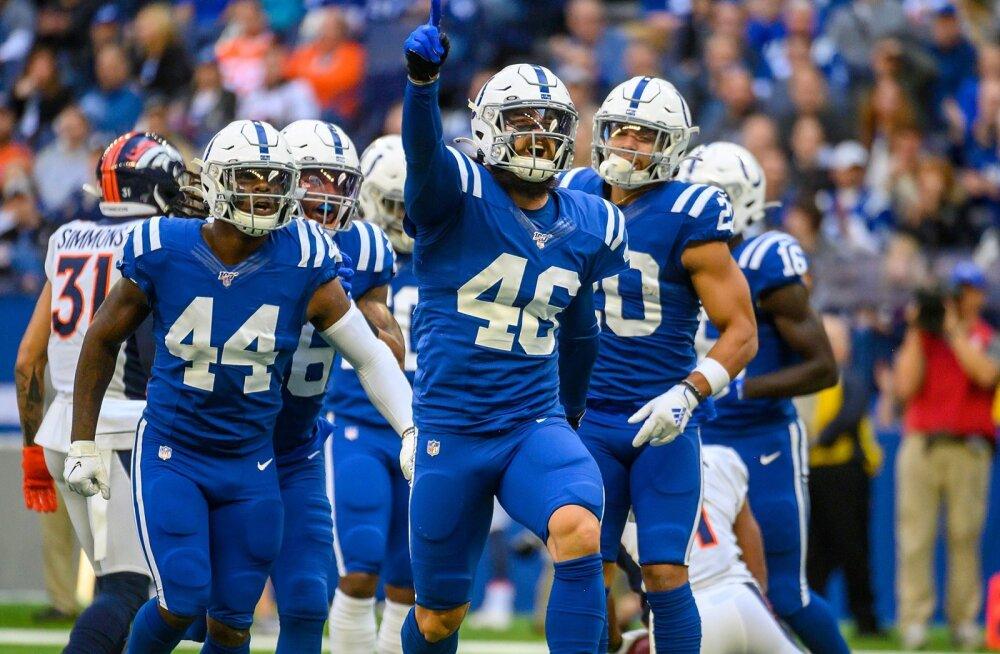 Colts ja Hunt said järjekordse dramaatilise võidu
