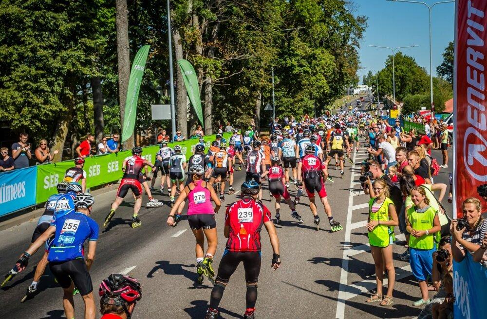 Uue tõusu lävel - 9. Tartu Rulluisumaratonil osales üle 1500 inimese