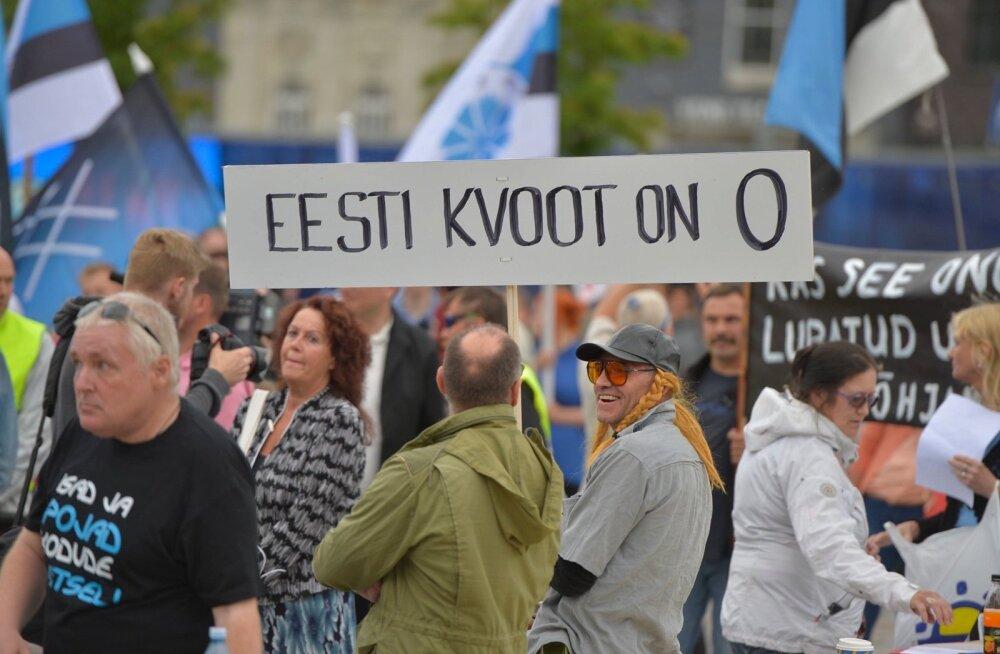 Опрос: четверть граждан Эстонии считает беженцев самой большой проблемой
